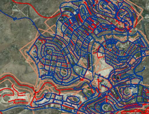 קליטת נתונים במערכת GIS לתאגיד מים